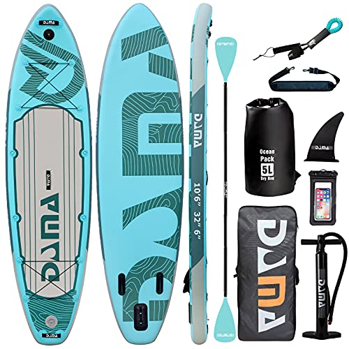Premium Inflatable Stand Up Paddle Board on-Slip Deck