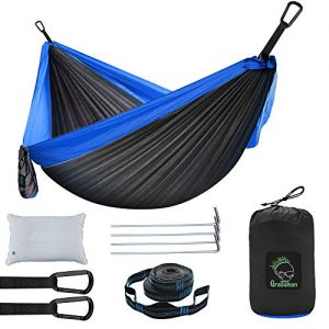 Lightweight Portable Hammock with Tree Straps