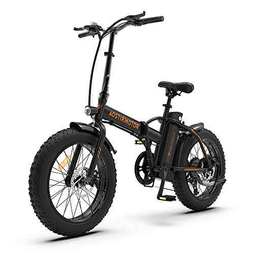 Aostirmotor Folding Electric Bike 20 inch