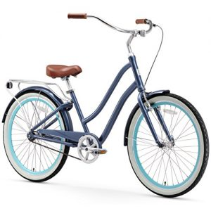 7-Speed Step-Through Hybrid Cruiser Bicycle