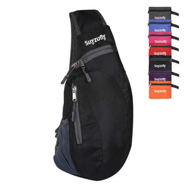 Foldable Sling Bags Shoulder Chest Backpack