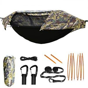 Hammock with Mosquito Net and Rainfly Lightweight