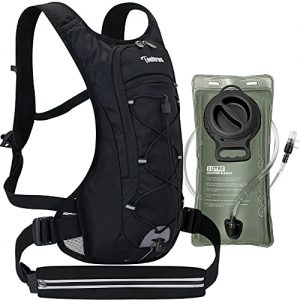 Hydration Backpack with Sport Waist Pouch