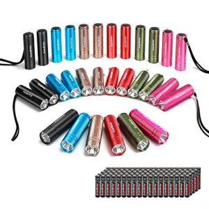 EverBrite 30-pack Mini Flashlight Set