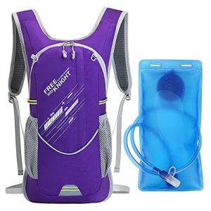 Hydration Cycling Backpack with 2L Water Bladder