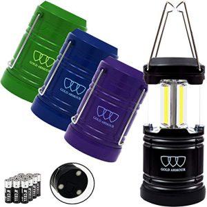Led Camping Lantern Flashlight with Magnetic Base Portable