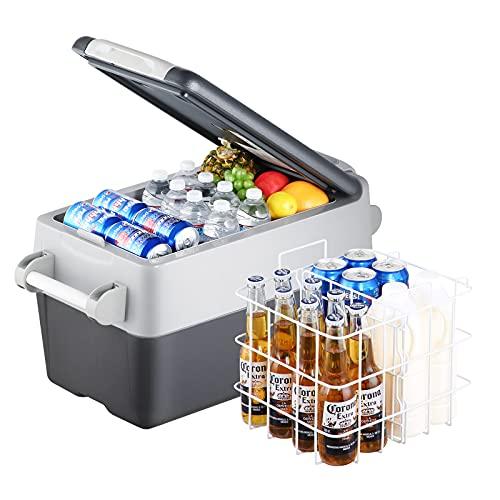 Portable Freezer Fridge 12V Cooler for Truck, Van, RV Road Trip