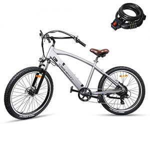 500W Electric Bike for Adult 6 Speed Gears