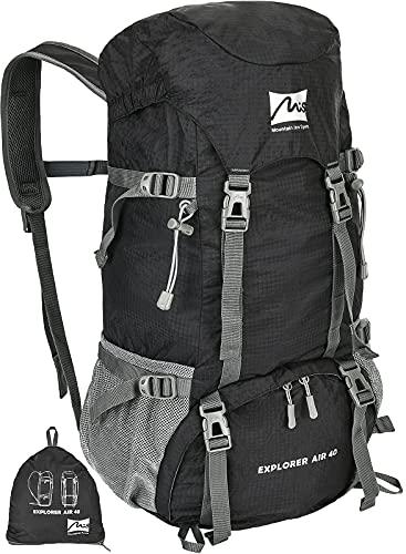 Foldable 40L Backpacking Hiking Backpack