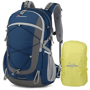 MOUNTAINTOP 40L Hiking Backpack with Rain Covers