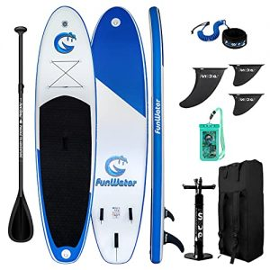 FunWater Stand Up Paddle Board 11'x33''x6'' Ultra-Light