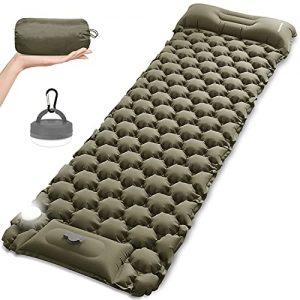 Camping Sleeping Pad Mat with LED Camping Lantern