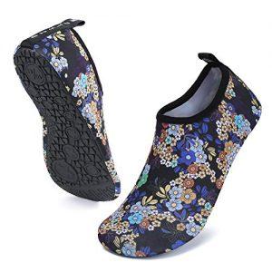 UBFEN Mens Womens Water Shoes Aqua Socks