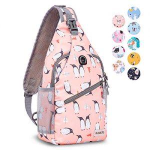 Travel Hiking Small Sling Backpack Purse Crossbody Bag
