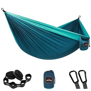 Lightweight Portable Parachute Hammock for Camping Backpacking Hiking