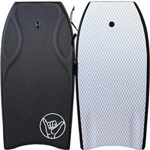 Durable, Lightweight Bodyboard in Black