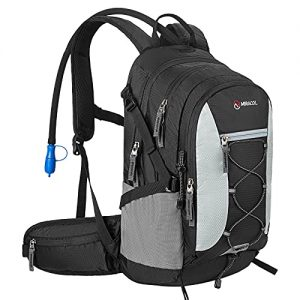 Large Daypack Hydration Pack with 2 Waist Pouch