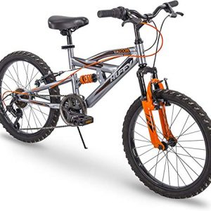 Boy's Full Suspension Mountain Bike