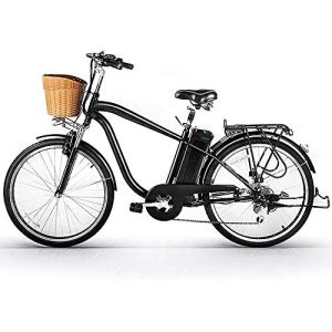 """NAKTO 26"""" City Electric Bicycle for Men"""