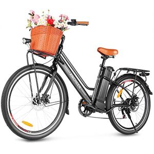 ANCHEER 26'' Electric Bicycle, City Electric Bike