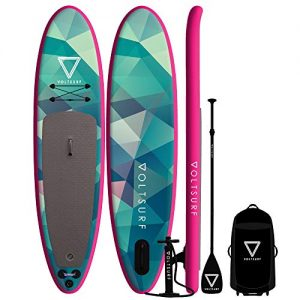 iSUP Inflatable Paddle Board Kit + Leash & Backpack