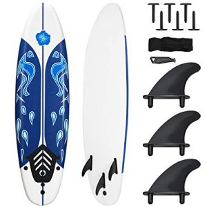 Giantex Surfboard, 6 Ft Stand Up Surfing Board