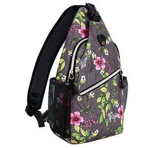 Travel Hiking Daypack Periwinkle Crossbody Shoulder Bag