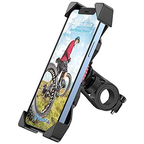 Bike Phone Mount Anti Shake and Stable Cradle Clamp