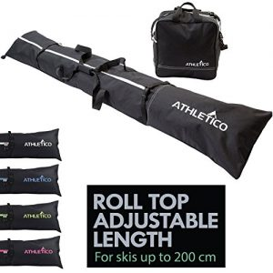 Athletico Ski Bag and Ski Boot Bag Combo