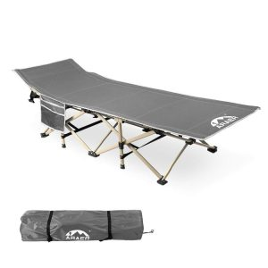 Portable Folding Outdoor Bed with Carry Bag