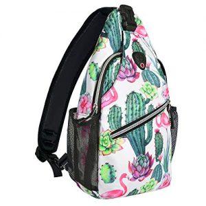 Shoulder Bag Travel Hiking Daypack Pattern Rope