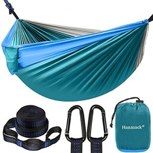 Double Hammock,Camping Hammock with 2 Tree Straps