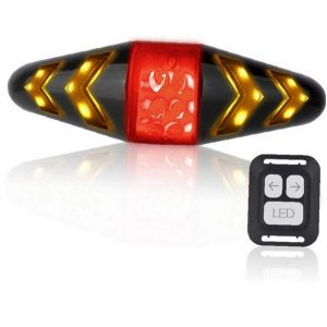 USB Charging Bicycle Tail Light with Turn Signal