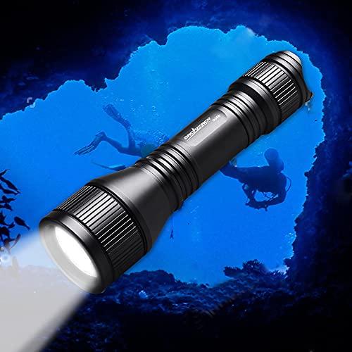 1000 Lumens Underwater Scuba Dive Light