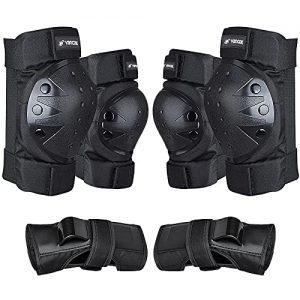 Vancok Knee Pads for Youth/Adult Elbow Pads Wrist Guards