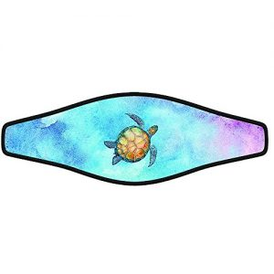 Scuba Diving Mask Strap Wrapper Water Turtle