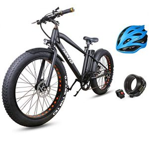 Electric Bicycle Mountain Snow Beach Sporting Shimano 6 Speed