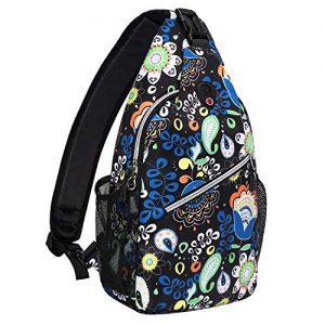 Daypack Pattern Rope Crossbody Shoulder Bag