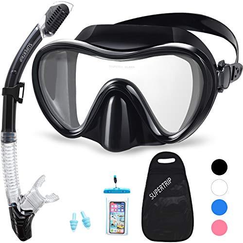 Supertrip Snorkel Set Adults-Anti-Fog