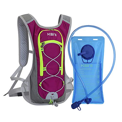 Hydration Backpack with 2L Water Bladder f