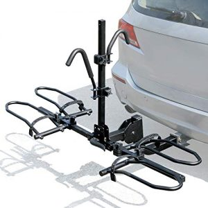 Leader Accessories 2-Bike Platform Style Hitch Mount Bike Rack
