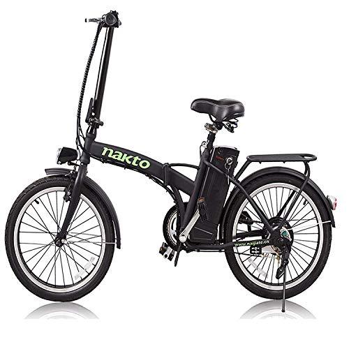 """NAKTO 20"""" 250W Foldaway/City Electric Bike"""
