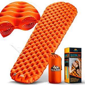 Ultralight Best Sleeping Pads for Backpacking, Hiking Air Mattress