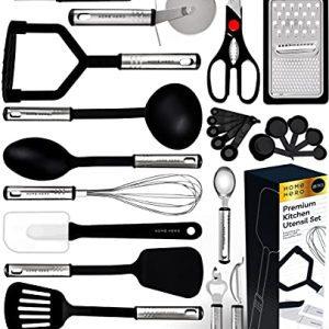 Kitchen Utensil Set Non-Stick Kitchen Utensils with Spatula