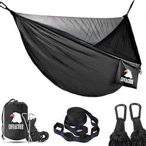 Lightweight Double Hammock for Indoor, Outdoor, Hiking, Camping