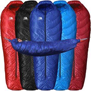Hammock, Ground Camping or Backpacking Sleeping Bag