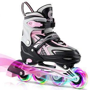 Gonex Inline Skates for Girls Boys Kids