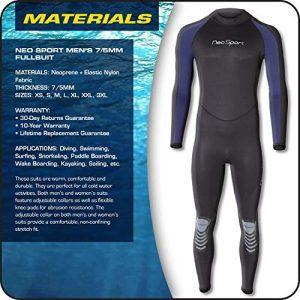 NeoSport Wetsuits Mens and Womens Premium