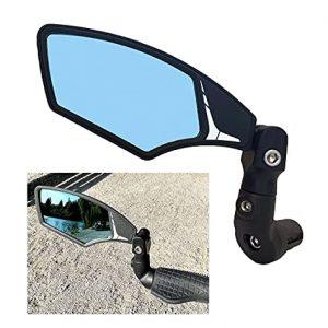 Automotive Grade Glass Lens End Bike Mirror