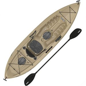 Sit-On-Top Kayak with Paddle